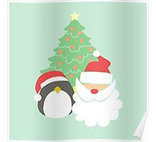 Santa & Penguin #4 Poster