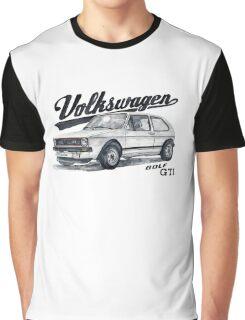 Volkswagen golf GTI Graphic T-Shirt