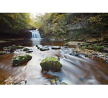 West Burton Falls Photographic Print