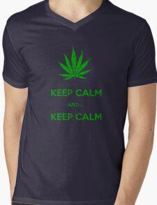 KEEP CALM & KEEP CALM  Mens V-Neck T-Shirt