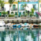 Pretty Harbour Scene in Gran Canaria by avocet