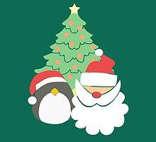 Santa & Penguin #5 by simplepaperplan