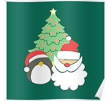 Santa & Penguin #5 Poster