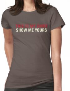 THIS IS MY SHIRT Womens Fitted T-Shirt