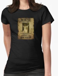 Schrodinger's Cat - Wanted Womens Fitted T-Shirt