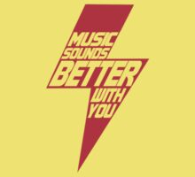 Music sounds better with you One Piece - Short Sleeve