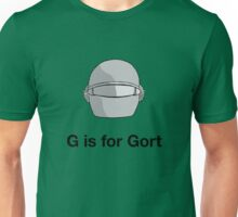 G is for Gort Unisex T-Shirt