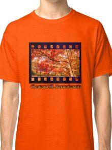 Fall Road,Chestnut Hill, Massachusetts Classic T-Shirt