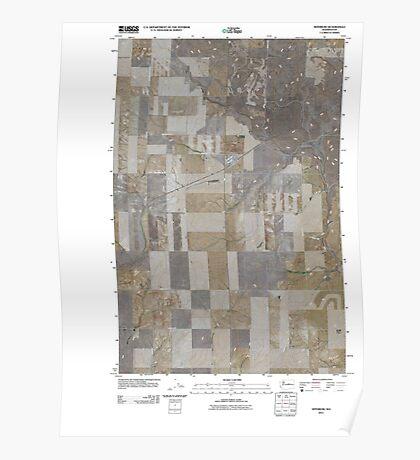 USGS Topo Map Washington State WA Withrow 20110425 TM Poster