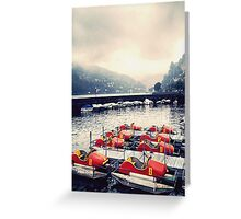Como Lake - Italy  Greeting Card