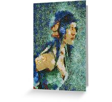 Blue Nila Greeting Card