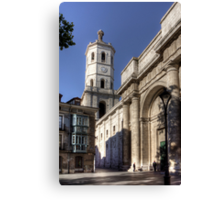 Valladolid Cathedral Tower Canvas Print