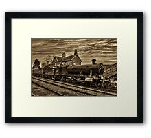 Great Western Railway Engine 2857 - Sepia Version Framed Print