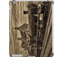 Great Western Railway Engine 2857 - Sepia Version iPad Case/Skin