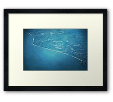 Land And Water Framed Print