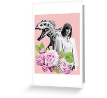 Claire // Indominus - Woman Inherits the Earth Greeting Card