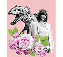 Claire // Indominus - Woman Inherits the Earth Photographic Print