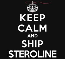 Keep Calm and Ship Steroline (DS) by rachaelroyalty
