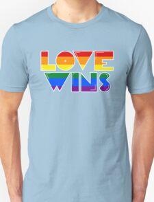 Love Wins Rainbow Gay Homosexual Lesbian T-Shirt