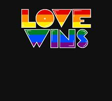 Love Wins Rainbow Gay Homosexual Lesbian Unisex T-Shirt