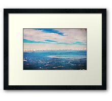 Above Ireland Framed Print
