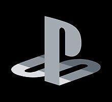 Playstation gray-scale by nekoblazerneko