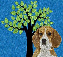 Beagle Hopper by doggylips