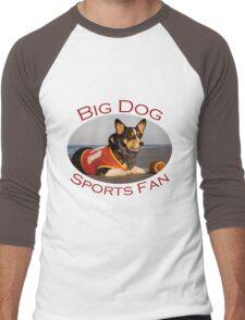 Big Dog Sports Fan Men's Baseball ¾ T-Shirt