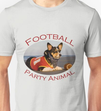 Football Party Animal Unisex T-Shirt