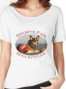 Sports Fan With Attitude Women's Relaxed Fit T-Shirt