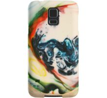 Food Coloring with Milk and Soap Samsung Galaxy Case/Skin