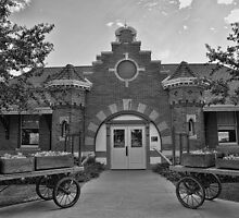 Evanston Train Depot by Brenton Cooper