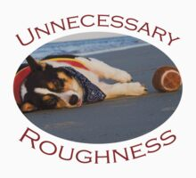Unnecessary Roughness Kids Tee