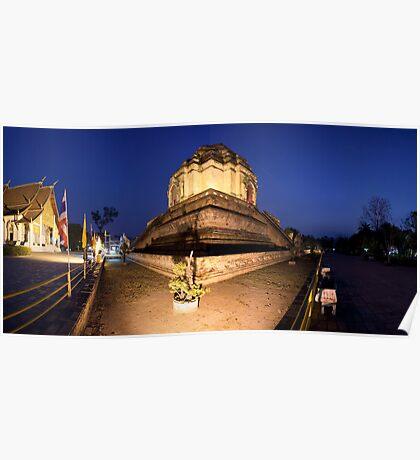 Wat Chedi Luang, Chiang Mai Poster