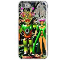 The Local Population is Very friendly on Exoplanet Ykculiain in the Galaxy of Zirene iPhone Case/Skin