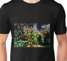 The Local Population is Very friendly on Exoplanet Ykculiain in the Galaxy of Zirene Unisex T-Shirt