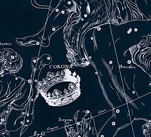 Corona Borealis Constellation by irinatsy