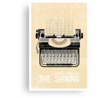 The Shining Minimalist Print  Canvas Print