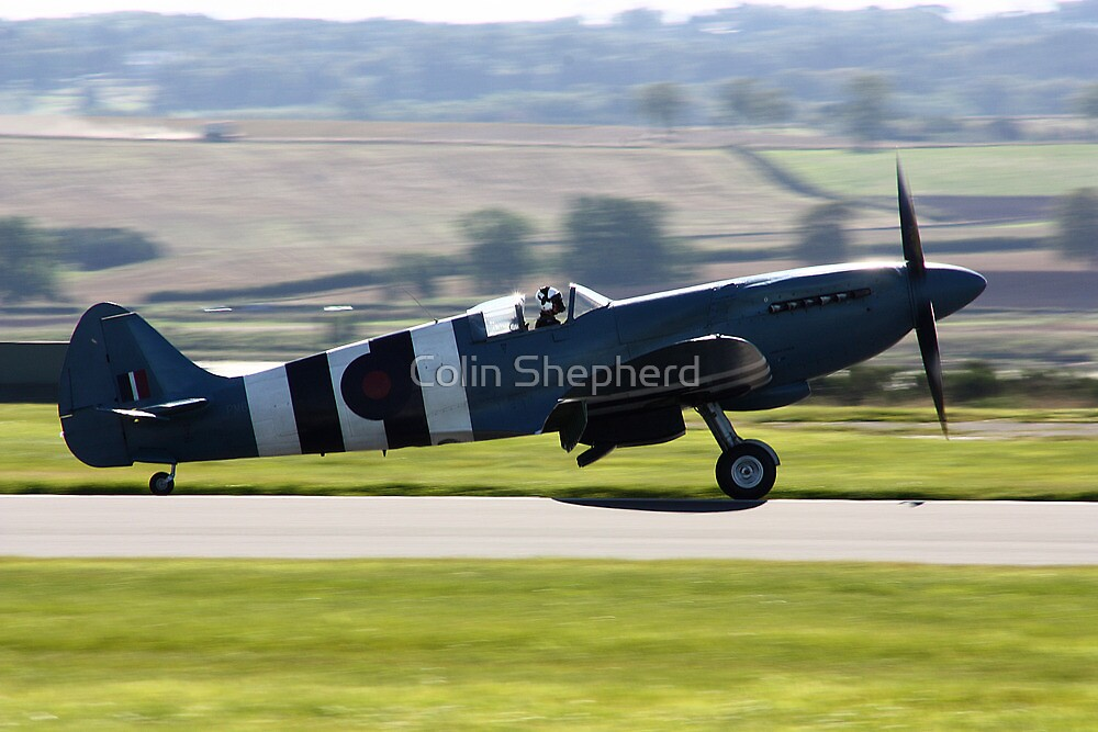 SupermarineSpitfire Mk PRXIX by Colin Shepherd