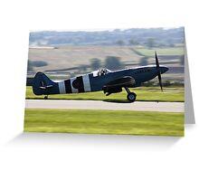 SupermarineSpitfire Mk PRXIX Greeting Card