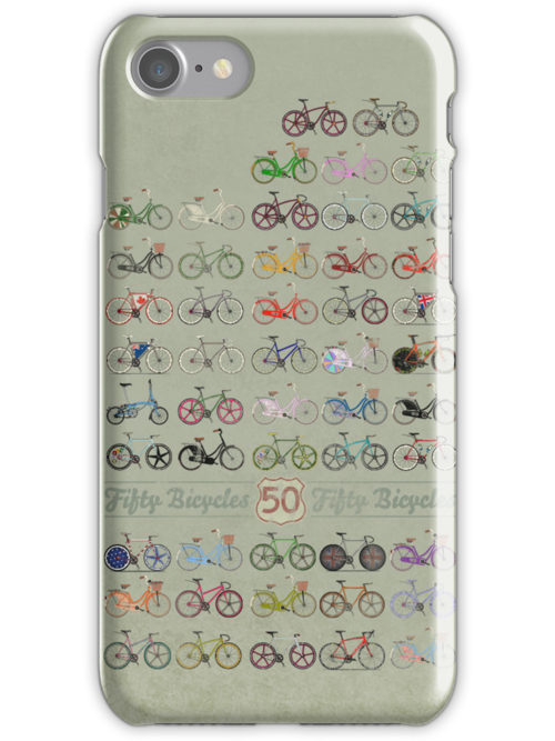 Fifty Bicycles by Andy Scullion