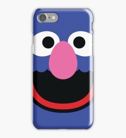 """Muppets """"Grover"""" iPhone Case/Skin"""