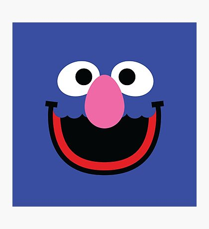 """Muppets """"Grover"""" Photographic Print"""