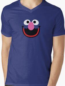 """Muppets """"Grover"""" Mens V-Neck T-Shirt"""