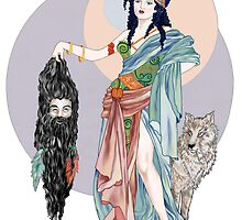 Hecate & Clytius by redqueenself
