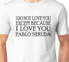 Except Unisex T-Shirt