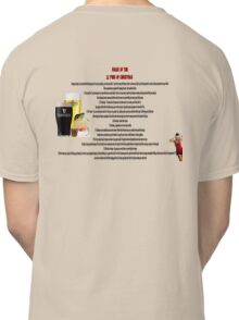 twelve rules to the twelve pubs/bars of christmas Classic T-Shirt
