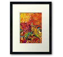 Messages Written in the Wind Framed Print