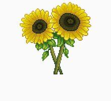 Sunflowers Pixel Unisex T-Shirt