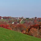 Autumn Hill in Kentucky by Ron Russell